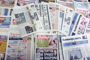 Titulares de periódicos