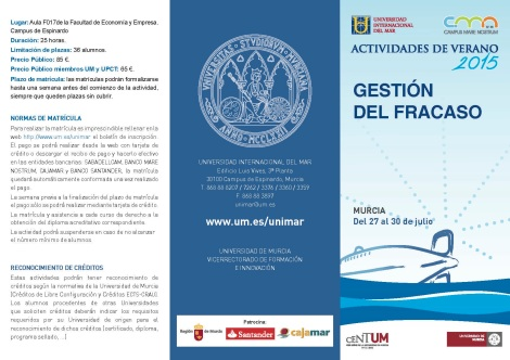 prog curso GESTION DEL FRACASO - Murcia 2015