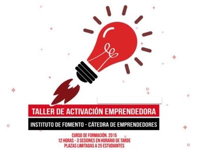 cartel activación emprendedora